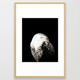 Snow Owl #1 #animal #decor #art #society6 Framed Art Print