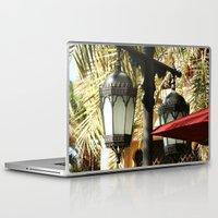 arab Laptop & iPad Skins featuring Dubai Lamps outside Burj Al Arab by gdesai