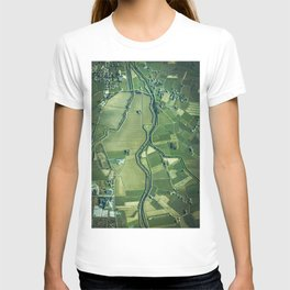 The Aerial View (Color) T-shirt