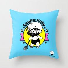 Shuffle Baby Throw Pillow