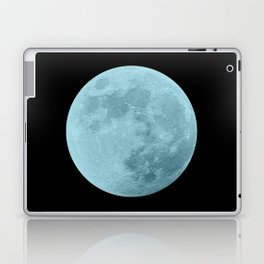 BLUE MOON // BLACK SKY Laptop & iPad Skin