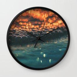 beach glow Wall Clock