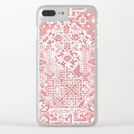 celtic coral Clear iPhone Case