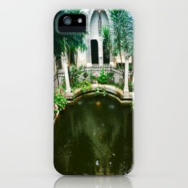 Pool at Hammond castle iPhone Case