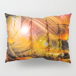 Romance of sailing Pillow Sham