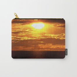 Golden Sunset on the Sea Carry-All Pouch