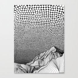 Into Nowhere Canvas Print