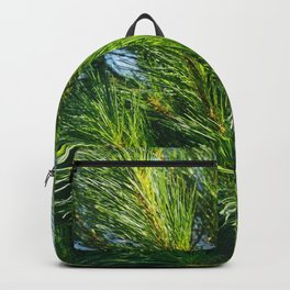 White Pine Branches Backpack