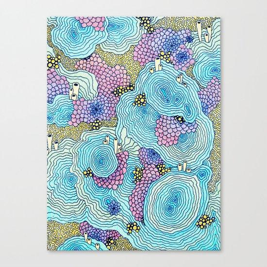 Reef #3 Canvas Print