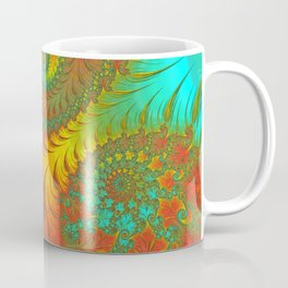 Mediterranean Muse - Fractal Art Coffee Mug
