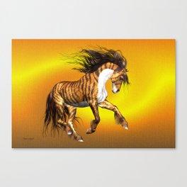 Mystical Horse .. fantasy Canvas Print