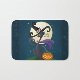 Halloween Night Magic Bath Mat