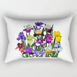Iris garden Rectangular Pillow