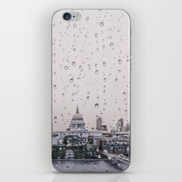 Rainy St. Paul's iPhone Skin
