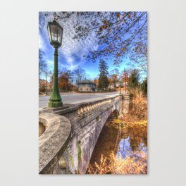 The Headless Horseman Bridge Canvas Print