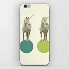 Unicorn Parade iPhone Skin