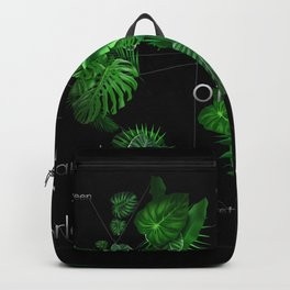 world of nature 2 Backpack
