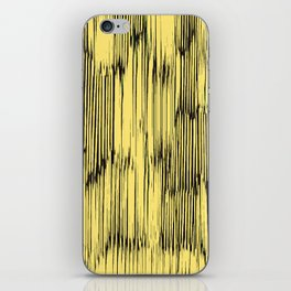 ikat stripes as sunny rays iPhone Skin