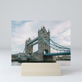 Historical Landmark Tower Bridge on River Thames Mini Art Print