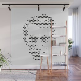 CLAUDE SHANNON | Legends of computing Wall Mural