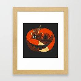Pumpkin Story. Chapter 2 Framed Art Print