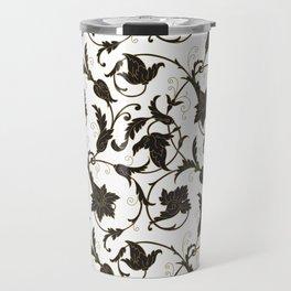 Luxury ornamental seamless pattern Travel Mug