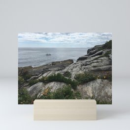 Water in Portland Maine Mini Art Print