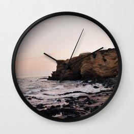 Crystal Cove, CA Wall Clock