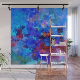 Abstract Seascape Painting Wall Mural