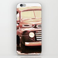 truck iPhone & iPod Skins featuring Old Truck by Regan's World
