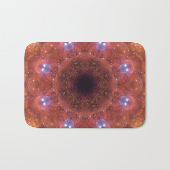 Space Mandala No14 Bath Mat