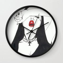 Nun joy Wall Clock