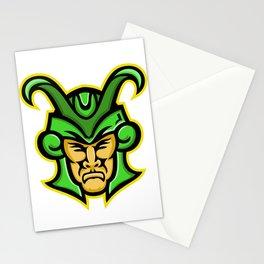 Loki Norse God Mascot Stationery Cards