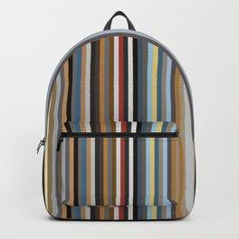 Nordic Stripes Vertical Pattern Backpack