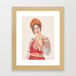 Russian Keira Framed Art Print