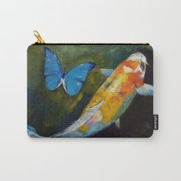 Kujaku Koi and Butterfly Carry-All Pouch