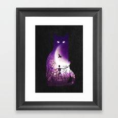 Fright Night Framed Art Print
