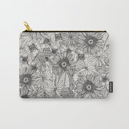 pencil flowers Carry-All Pouch