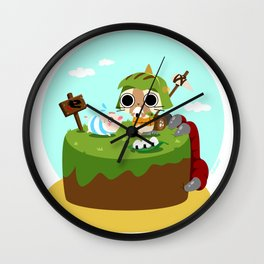 Monster Hunter - Felyne and Poogie Wall Clock