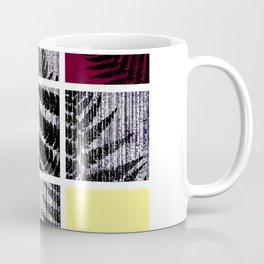 Square Fern Coffee Mug