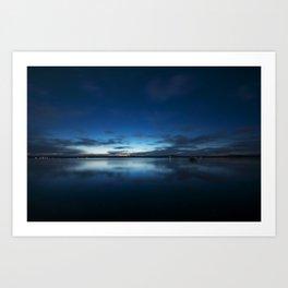 Gloomy Skys Art Print