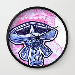 Alien Existence  Wall Clock