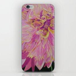 Pink Dhalia iPhone Skin