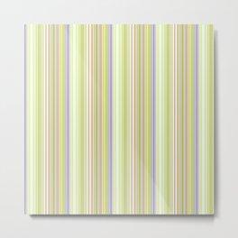 Lime Green Stripe, Ballard Cliff Spring Metal Print