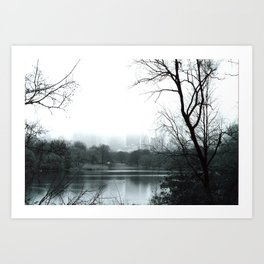The Pond II Art Print