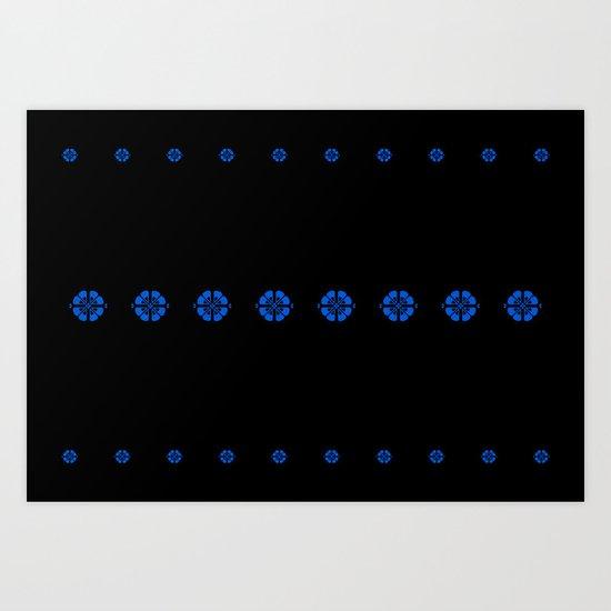 Nordic Pattern Art Print