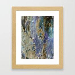Diamond Mine Framed Art Print