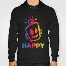 HAPPY  Stripes Hoody