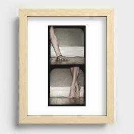 Top/Bottom Recessed Framed Print
