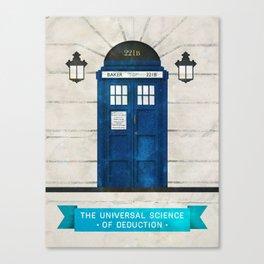 Doctor Who & Sherlock Canvas Print